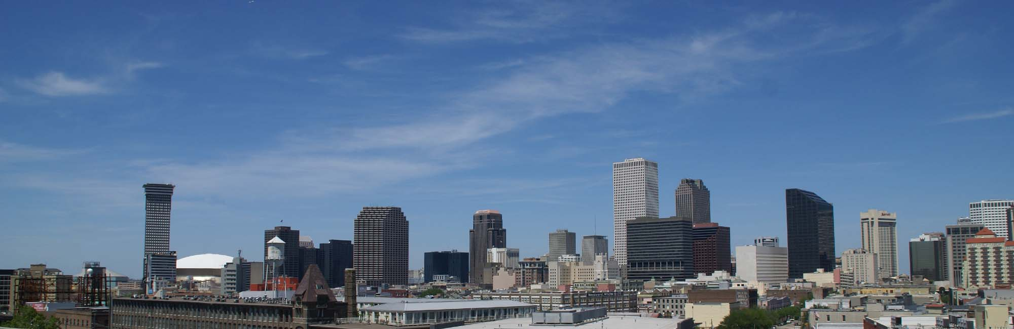 Skyline of Downtown New Orleans